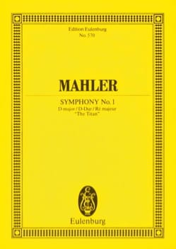 Gustav Mahler - Symphony No. 1 in D Major Titan - Conductor - Sheet Music - di-arezzo.co.uk