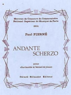 Paul Pierné - Andante Scherzo - Sheet Music - di-arezzo.co.uk