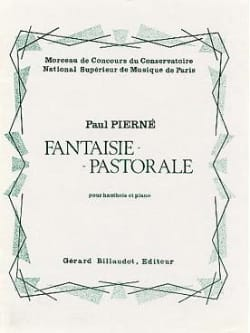 Paul Pierné - Fantaisie pastorale - Partition - di-arezzo.fr