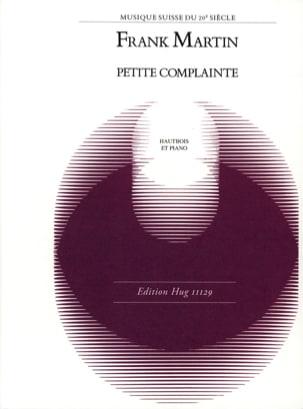 Frank Martin - Petite Complainte - Partition - di-arezzo.fr