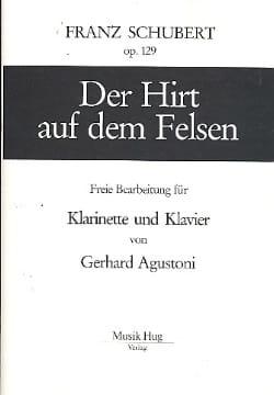 SCHUBERT - Der Hirt Auf Dem Felsen - 楽譜 - di-arezzo.jp