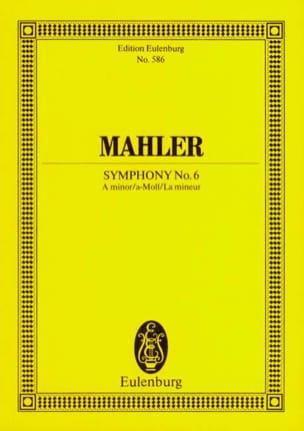 Symphonie Nr. 6 A-Moll - Conducteur MAHLER Partition laflutedepan