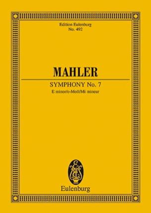 Gustav Mahler - Sinfonie Nr. 7 e-Moll - Partition - di-arezzo.fr