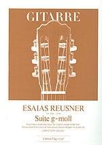 Suite g-moll -Gitarre - Esaias Reusner - Partition - laflutedepan.com