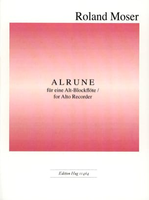 Roland Moser - Alrune - Sheet Music - di-arezzo.co.uk