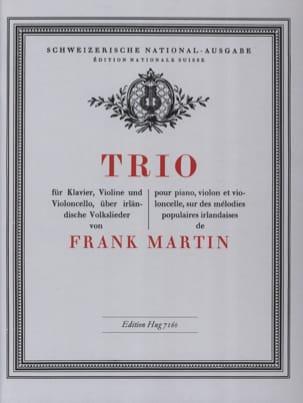 Trio - Violon, Violoncelle et Piano Frank Martin laflutedepan
