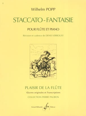 Wilhelm Popp - Staccato Fantasy - Sheet Music - di-arezzo.co.uk