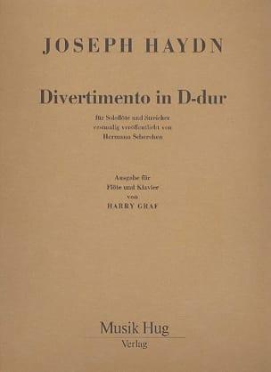 HAYDN - Divertimento D-Dur - Partition - di-arezzo.fr