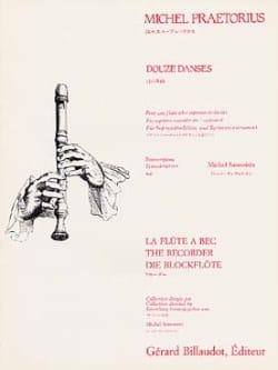 Douze danses - Michael Praetorius - Partition - laflutedepan.com