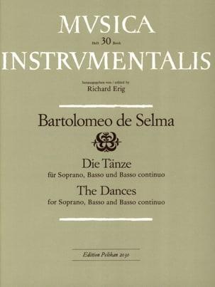 Die Tänze - Y Salaverde Bartolomeo De Selma - laflutedepan.com