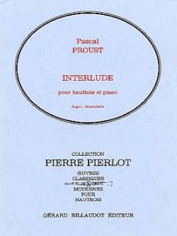 Pascal Proust - Interlude - Partition - di-arezzo.fr