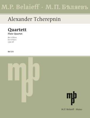 Quartett op. 60 - 4 Flöten Alexandre Tcherepnine laflutedepan