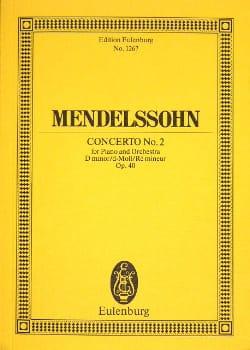 MENDELSSOHN - Klavier-Konzert Nr. 2 d-moll - Sheet Music - di-arezzo.co.uk