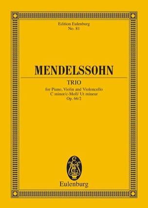 Klavier-Trio c-moll - MENDELSSOHN - Partition - laflutedepan.com