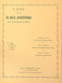 Emile Ratez - Cantabile op. 46 n ° 2 extr. 6 Characteristic parts - Sheet Music - di-arezzo.co.uk