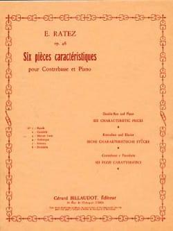 E. Ratez - Menuet varié op. 46 n° 3 (extr. 6 Pièces caractéristiques ) - Partition - di-arezzo.fr