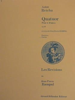 Quatuor op. 19 – 4 Flûtes - (Parties) - laflutedepan.com