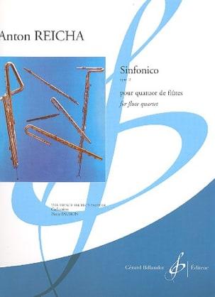 Anton Reicha - Sinfonico Op. 12 - 4 Flutes - Sheet Music - di-arezzo.co.uk