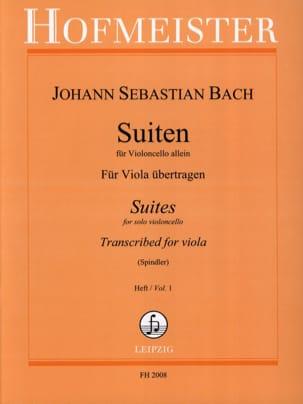 BACH - SuitenFürVioloncello Allein、Heft 1 - Alto - 楽譜 - di-arezzo.jp