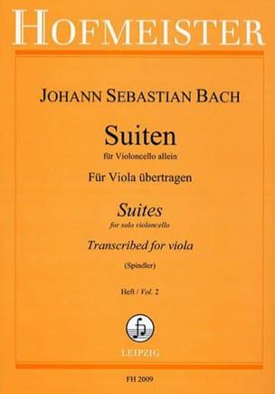 BACH - Suiten Für Violoncello Allein Heft 2 - Partition - di-arezzo.fr