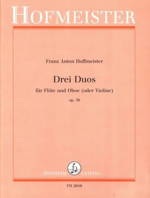 3 Duos op. 38 – Flöte und Oboe (o. Violine) - laflutedepan.com