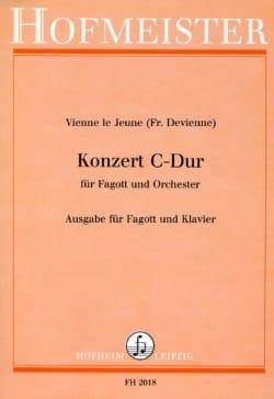 François Devienne - Konzert C-hard - Fagott Klavier - Sheet Music - di-arezzo.com