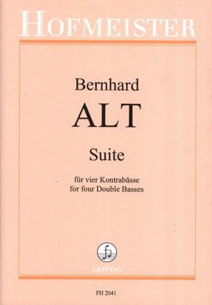 Suite - 4 Kontrabässe Bernhard Alt Partition laflutedepan