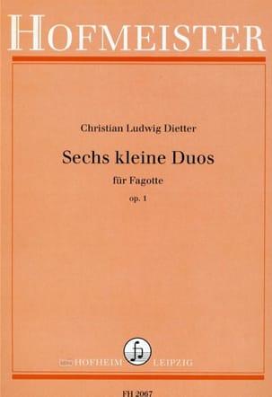 Sechs kleine Duos op. 1 -Fagotte laflutedepan