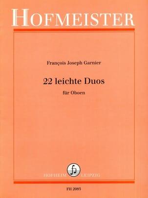 Joseph-François Garnier - 22 Leichte Duos - Oboen - Sheet Music - di-arezzo.co.uk
