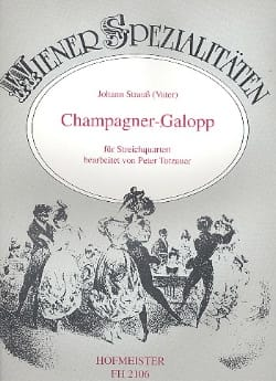 Johann (Fils) Strauss - Champagner-Galopp - Partition - di-arezzo.fr