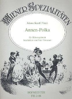 Annen-Polka op. 137 -Bläserquintett laflutedepan