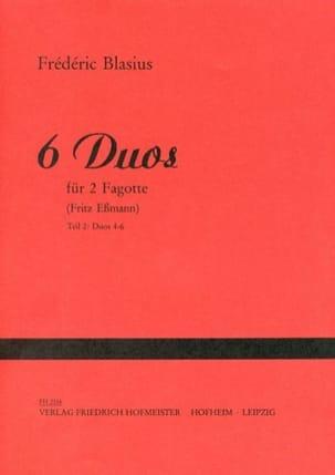 Frédéric Blasius - 6 Duos - Sheet Music - di-arezzo.com