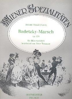 Johann (Père) Strauss - Radetzky-Marsch op. 228 –Bläserquintett - Partition - di-arezzo.fr