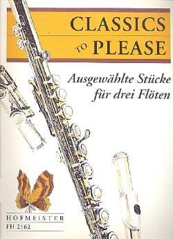 Doris Geller - Classics to please - 3 Flöten - Sheet Music - di-arezzo.co.uk