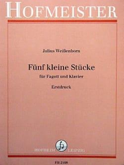 Julius Weissenborn - 5 kleine Stücke - Sheet Music - di-arezzo.co.uk