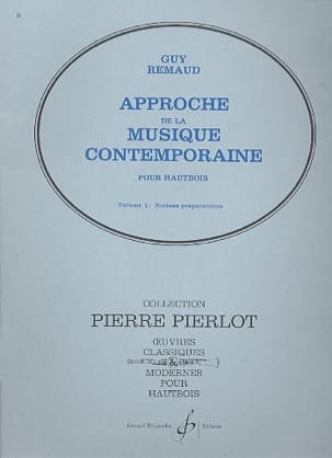 Guy Remaud - Approche de la mus. contemp. - Volume 1 - Partition - di-arezzo.fr