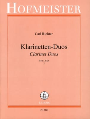 - Klarinetten-Duos - Heft 2 - Sheet Music - di-arezzo.co.uk