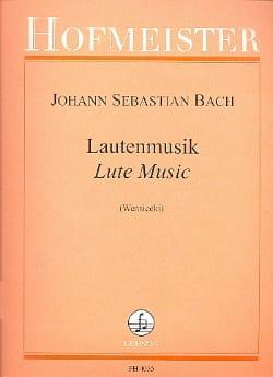 BACH - Lautenmusik - Sheet Music - di-arezzo.co.uk