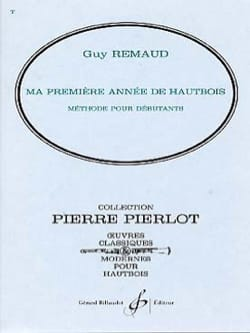 Guy Remaud - My first year of oboe - Sheet Music - di-arezzo.com