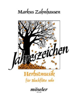 Markus Zahnhausen - Herbstmusik - Blockflöte solo - Sheet Music - di-arezzo.co.uk