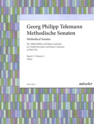 Methodische Sonaten, Bd 2 TELEMANN Partition laflutedepan