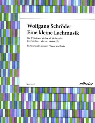 Wolfgang Schröder - Eine kleine Lachmusik –Partitur + Stimmen - Partition - di-arezzo.fr