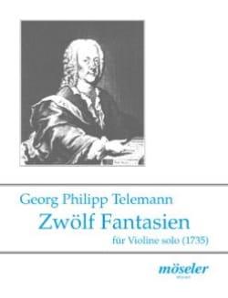 TELEMANN - Fantastic Zwölf - Sheet Music - di-arezzo.co.uk