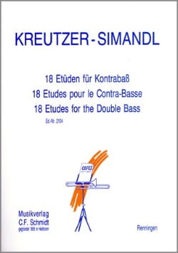 Kreutzer Rodolphe / Simandl Franz - 18 Etüden für Kontrabass - Sheet Music - di-arezzo.com