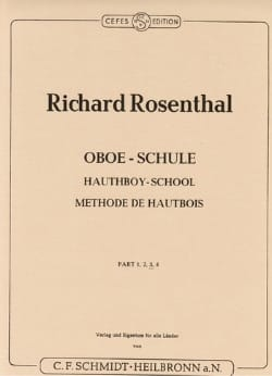 Richard Rosenthal - Método Oboe - Volumen 3 - Partitura - di-arezzo.es