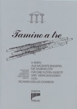 Wolfgang Amadeus Mozart - Tamino a tre - Partition - di-arezzo.fr