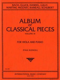 Album of classical pieces, Volume 3 Paul Klengel laflutedepan