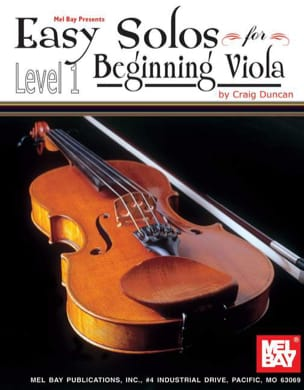 Craig Duncan - Easy Solos for beginning Viola - Level 1 - Partition - di-arezzo.fr