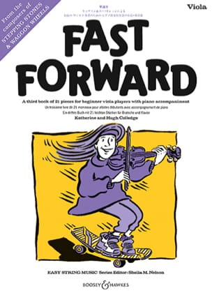 Fast Forward - Viola and Piano - Sheet Music - di-arezzo.com
