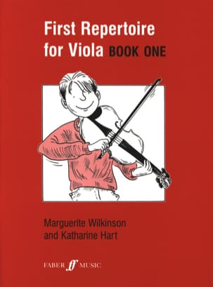 Wilkinson Marguerite / Hart Katherine - First repertoire for Viola - Book 1 - Sheet Music - di-arezzo.co.uk